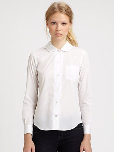 Marc By Marc Jacobs Justine Cotton Blouse 61