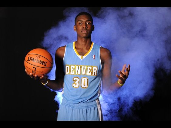 Quincy Miller of the Denver Nuggets poses for a portrait during the 2012 NBA rookie photo shoot at the MSG Training Facility in Tarrytown, New York.