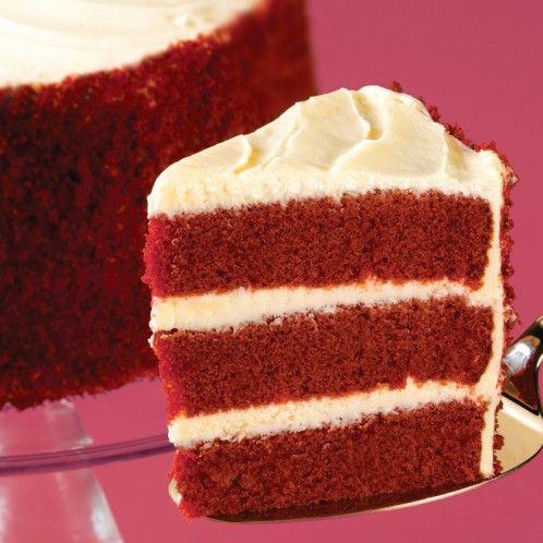 Cake Red Ribbon Recipe : Blue Ribbon Red Velvet Cake Gourmet Desserts Pinterest ...