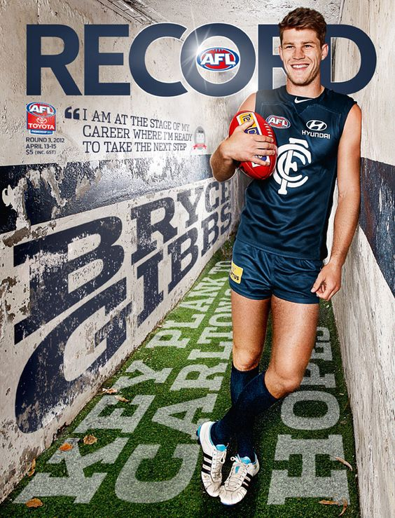 Round 3 AFL Record cover. They've really improved in the covers this year.