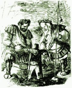Gog and Magog are giants. They led the Aryan hordes that plagued the Middle East…