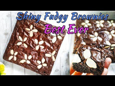 Resep Shiny Fudgy Brownies Shiny Fudgy Brownies Recipe Youtube Di 2020 Resep Memasak Brownies