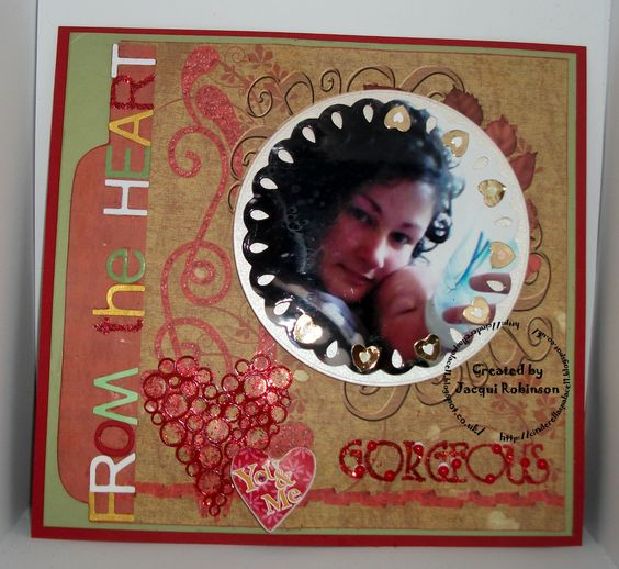 Scrapbook page using NEW Cinnamon Spice kit available from DLD Jan 2015