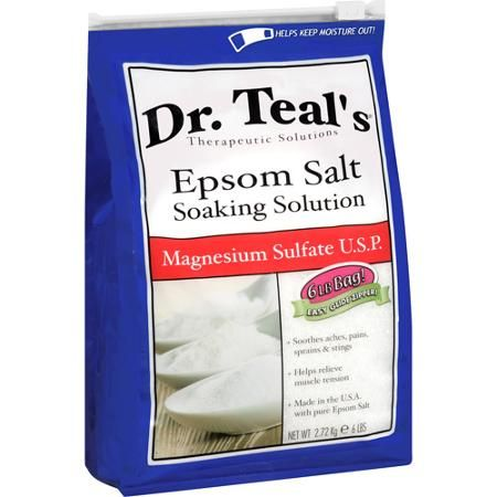 Dr. Teal's Epsom Salt-Soaking Solution, 6 lbs. - Walmart.com
