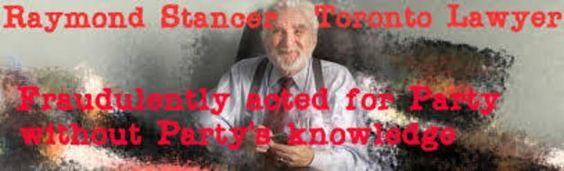 Raymond Stancer Stancer Gossin Rose Llp North York Ontario