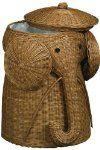Rattan Elephant Hamper- Home Decorators or Amazon $59.