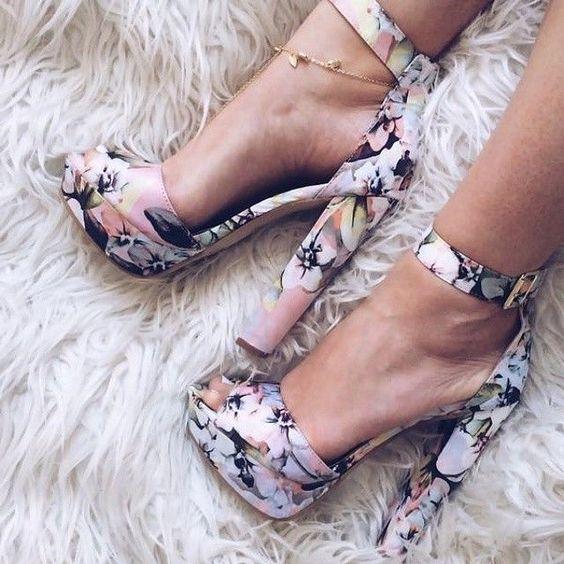 Stylish Casual High Heels