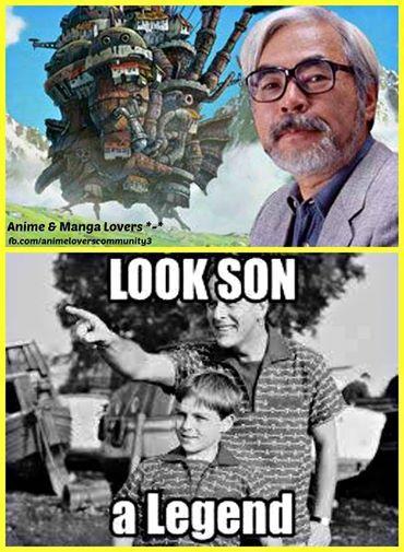 Hayao Miyazaki is literally the Walt Disney of Japan
