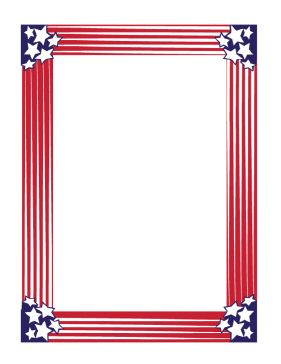 Red White And Blue Banner Clipart