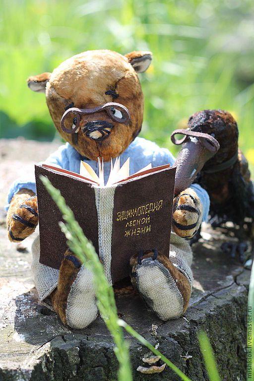 """Купить Мишки Тедди.""""...,а две лучше"""". - сказка, ворон, винтажный мишка, винтаж"""