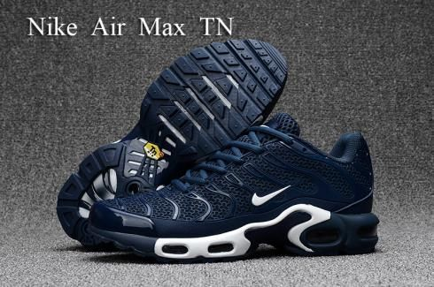 Nike Air Max Plus TXT TN KPU Black Blue Men Sneakers Running