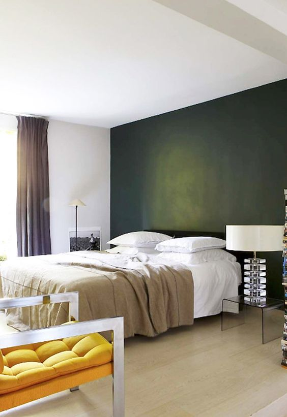 Paint idea! Color, depth, it's all good.  texture modern color bedroom  Japanese Trash masculine design inspiration: