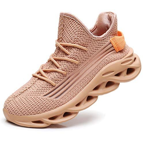 Auperf Women Slip On Running Shoes Tennis Comfortable Athletic Elasticity Sole Non Slip Lightweight Walking Sneakers Gift Options Showcase Walking Sneakers Running Tennis Shoes Sneakers