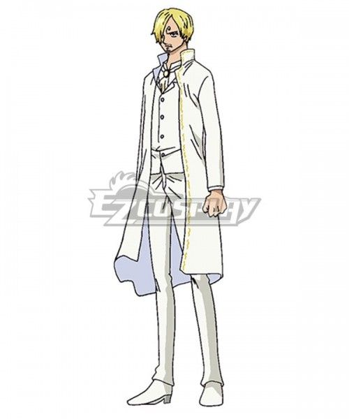 One Piece Sanji Vinsmoke Wedding Dress Cosplay Costume Vinsmoke Sanji Piece