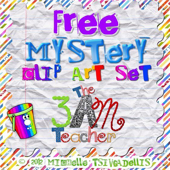 The 3am Teacher: FREE MYSTERY SET