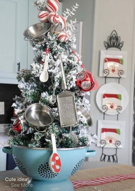 Super Cool Kitchen Christmas Tree Decor Ideas Pinterest Rustic Christmas Ornaments Christmas Decorations Small Christmas Trees