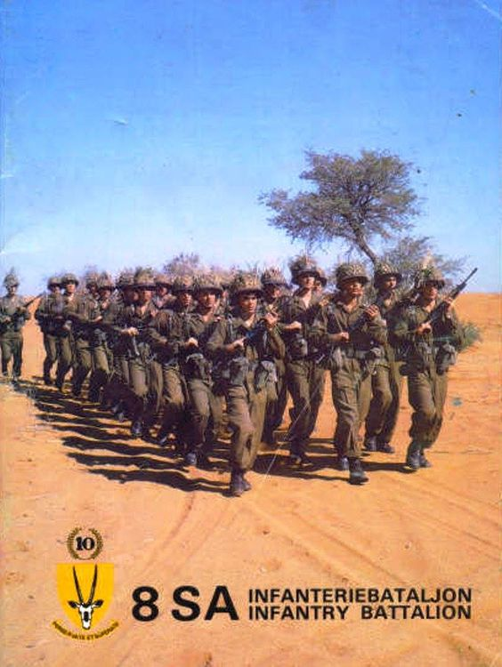 "South African Border War - ""Hoog Voor!"""