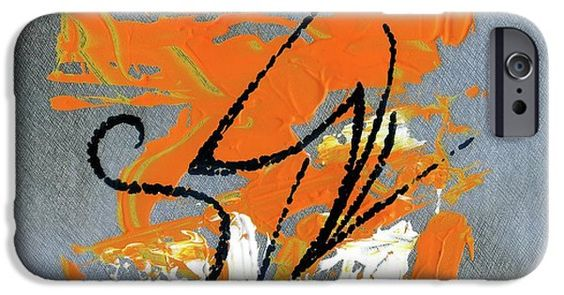 IPhone Case featuring the painting Modern Abstract_2 by Rupam Shah