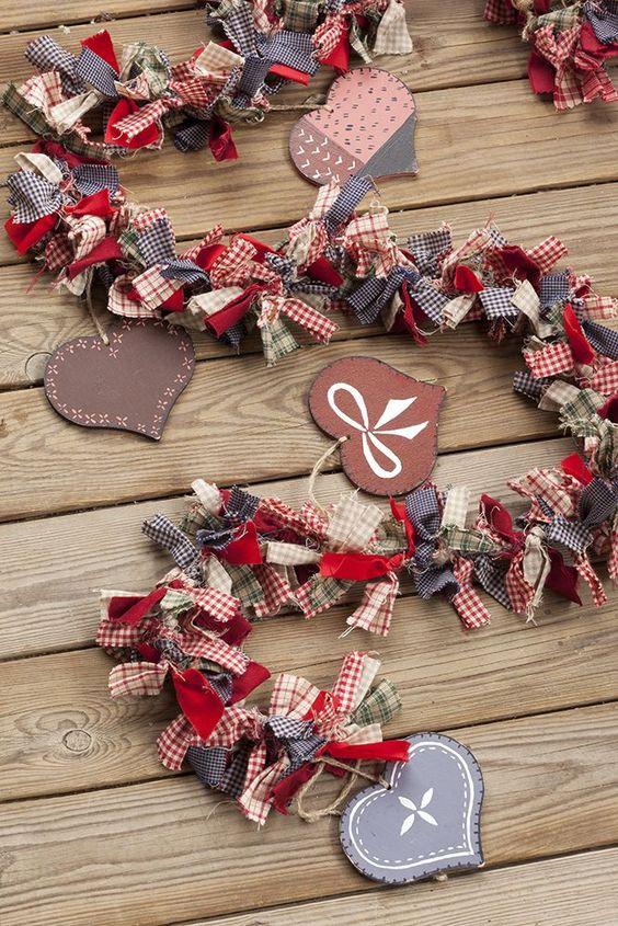 Guirnaldas y coronas 15 manualidades de navidad para - Decoracion de navidad manualidades ...