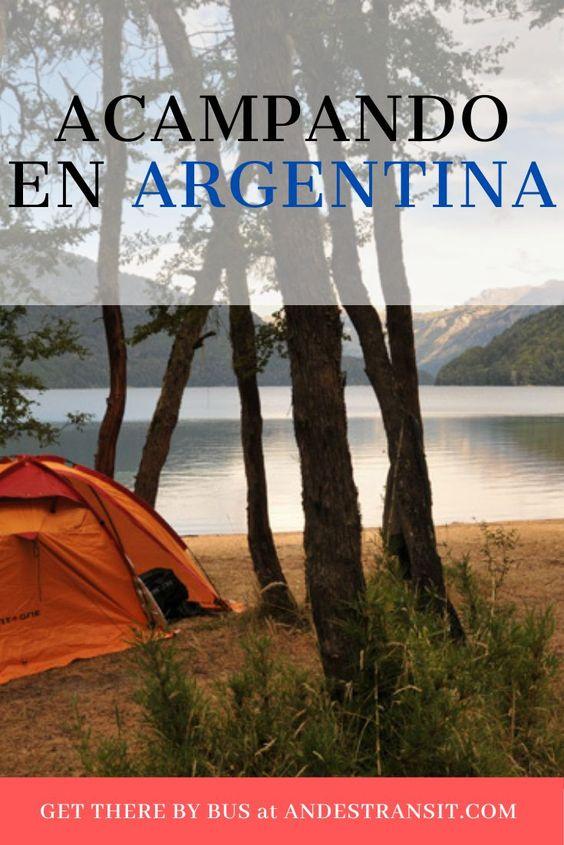 Acampando en Argentina (Pinterest)