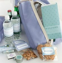 Gift bags, Bags and Wedding itineraries on Pinterest