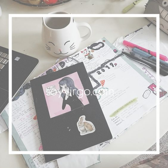 SOYVIRGO.COM BULLET JOURNAL 2019 - BLOG AUDIT AND ACCOMPLISHMENTS