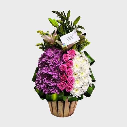 باقة البرج متجر هدية الرياض أفضل محل ورد أونلاين توصيل في نفس اليوم زهور هدايا بالون شوكولا Floral Wreath Floral Wreaths