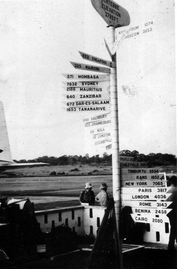 Jacques Mullander, Entebbe Airport, Uganda, 1964