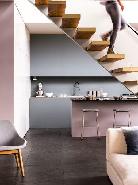 neuer anstrich: jetzt wird die küche bunt | kochen, Hause deko