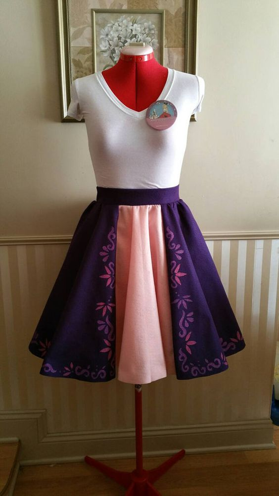 Hey, I found this really awesome Etsy listing at https://www.etsy.com/listing/226341622/rapunzel-swing-skirt-disney-bound-dapper