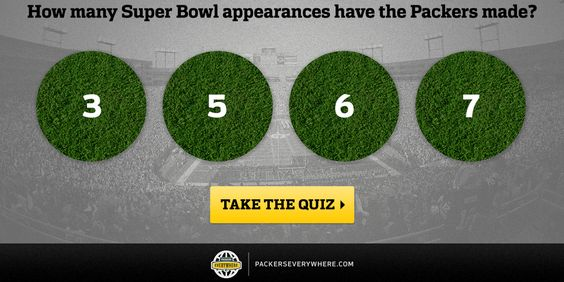 Are you a #SuperBowl expert? Test your knowledge of the greatest #Packers Super Bowl moments: http://oak.ctx.ly/r/1wqtu