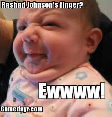 rashad johnson injury lost finger 1