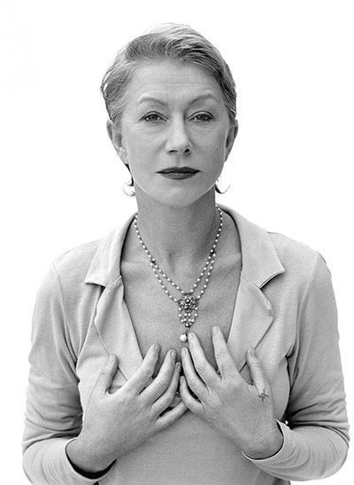 Helen Mirren by Mary McCartney