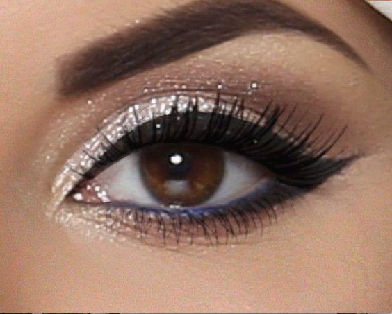 20 maquillajes para ojos marrones | Belleza