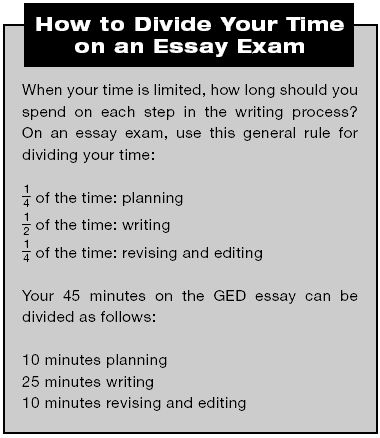 GED Writing Practice Test 1