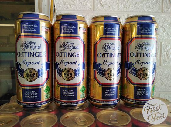 bia oettinger vàng lon 500ml