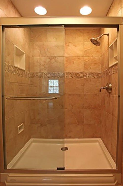 The Idea Of Restoring A Shower Room By Replacing Floor Tiles May Be Required Since You Feel Bored Bathroom Remodel Shower Master Bathroom Shower Shower Remodel