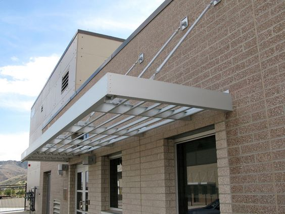 Aluminum Canopies SuperShade Aluminum Canopies Exterior Finishes Pinter