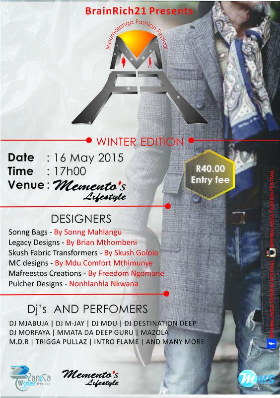 Mpumalanga Fashion Festival Winter Edition 2015