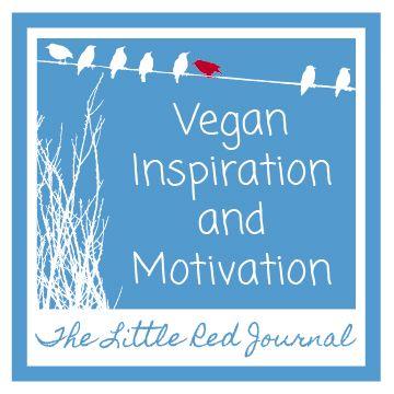 Vegan Inspiration and Motivation | The Little Red Journal | #vegan #healthy #change