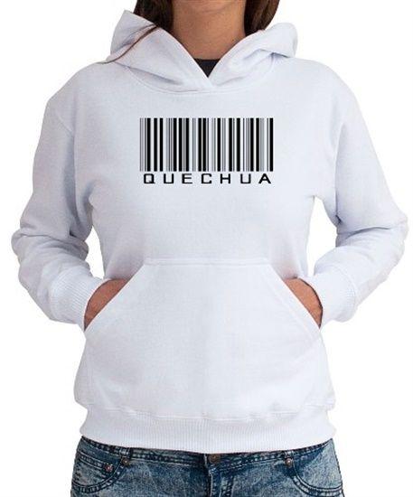 Polera Con Capucha Quechua Barcode