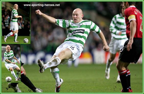 Thomas GRAVESEN Celtic FC
