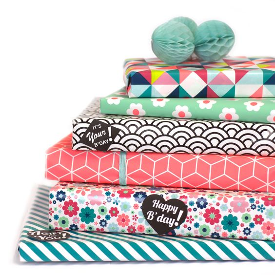 Biri Publications wrapping paper