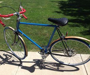 Wood Bicycle Fender