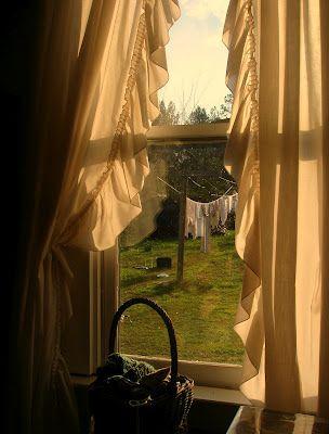 Aunt Viola's window: