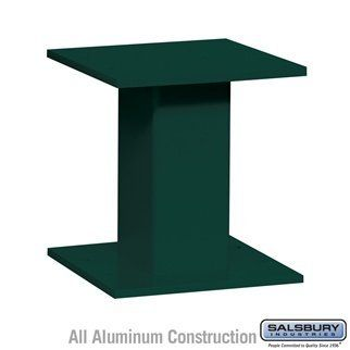 Replacement Pedestal - for 4C Pedestal Mailbox #3416, #3415 and #3413 - Green by Salsbury Industries. $75.00. Always providing you with the best selection and the best value. Huge selection to choose from. For 4C Pedestal Mailbox 3416, 3415 and 3413. Material: Aluminum. Color: Green. Dimensions: 12 W x 13 H x 12 D.