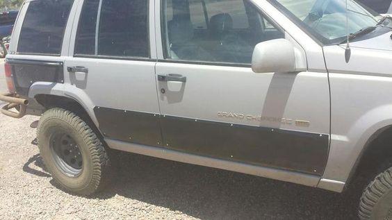 93 98 Jeep Zj Lower Body Armor 250 Jeep Zj Jeep Grand Cherokee Zj Jeep Grand