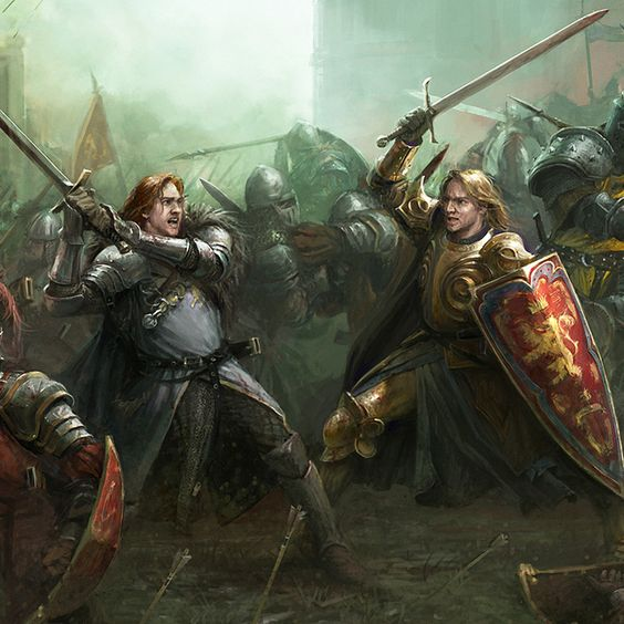 ArtStation - A Song of Ice & Fire, Stefan Kopinski