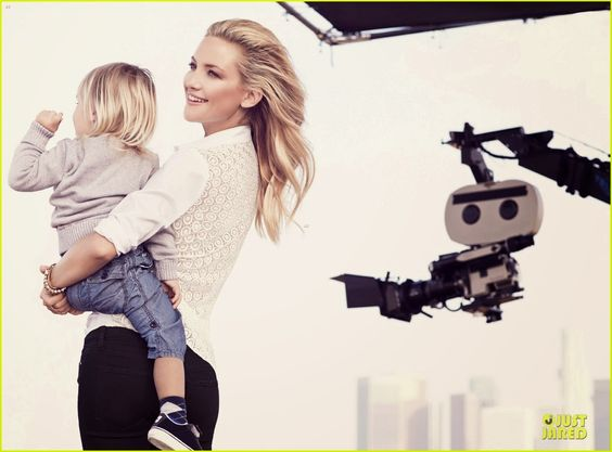 Kate Hudson stunning for the Ann Taylor Spring 2014 campaign