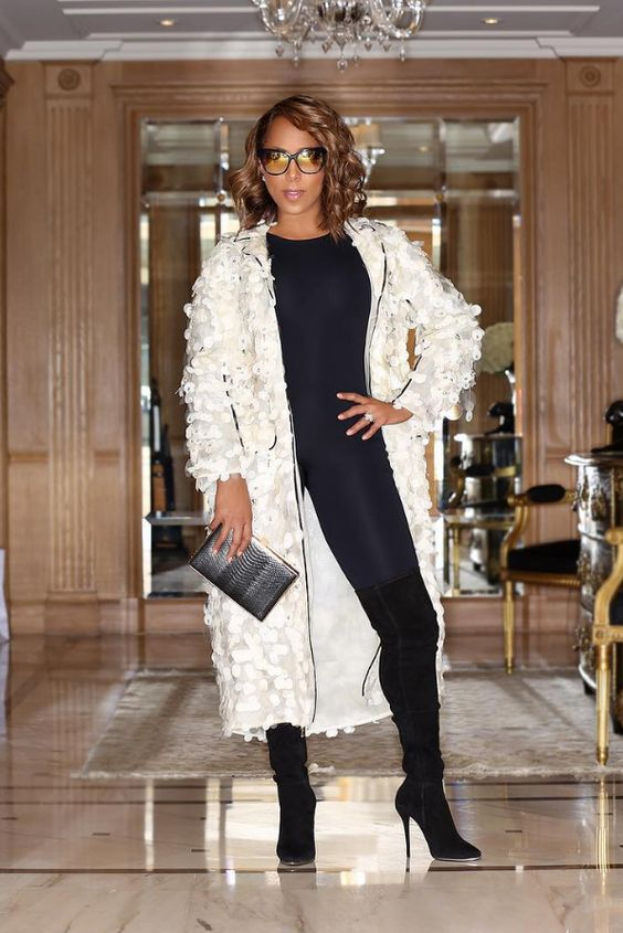 Marjorie Harvey - Marjorie Harvey Slayed Paris Fashion Week Like We Knew She Would
